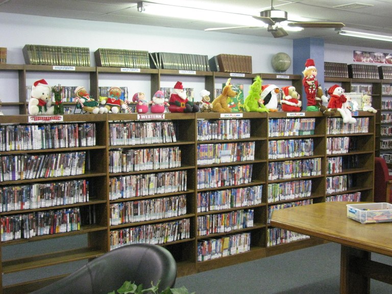 How to decorate the school library